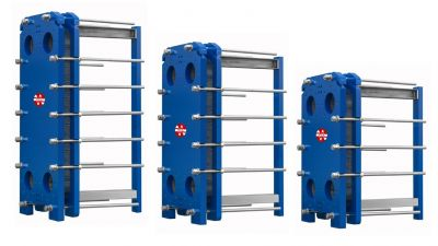 New gasketed plate heat exchangers GT021-GT022-GT025