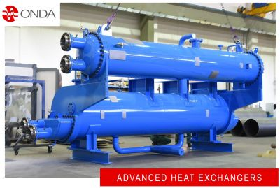 Big shell and tube heat exchanger