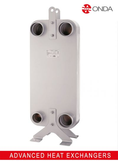 New brazed plate heat exchanger S404M