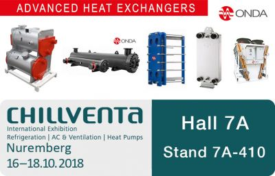 Chillventa Octobre 2018