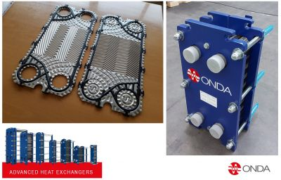 New gasketed plate heat exchangers GG004