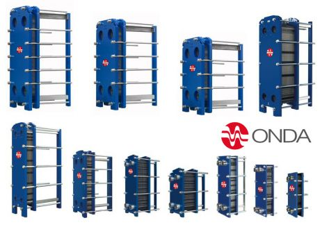 Plate Heat Exchangers, Gasketed Plate and Frame Heat Exchangers - Onda