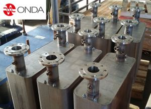 Dual circuit brazed plate heat exchanger