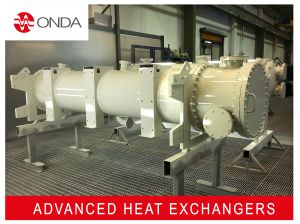 Shell and tube heat exchanger - condenser